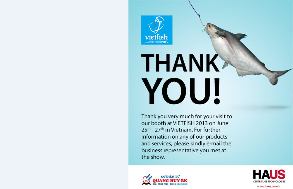 HAUS EXHIBITED AT VietFish 2013 In Ho Chi Minh City, Viet Nam